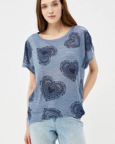 Синяя футболка Qed London
