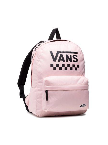 Różowy plecak sportowy Vans