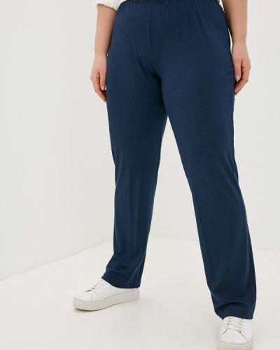 Синие прямые брюки Sophia
