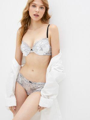 Бюстгальтер из плотной ткани - белый Sensera