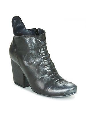 Czarne botki Papucei
