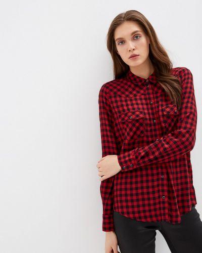 Джинсовая рубашка с длинным рукавом красный Guess Jeans