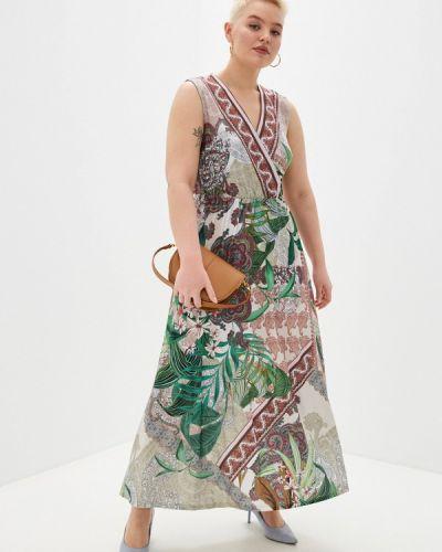 Платье с запахом Ulla Popken