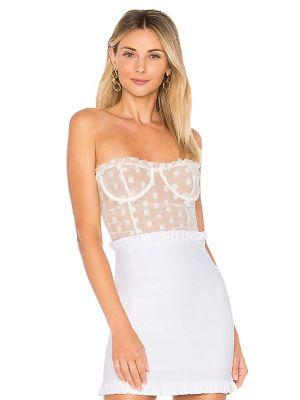 Body elegancki - biały Majorelle