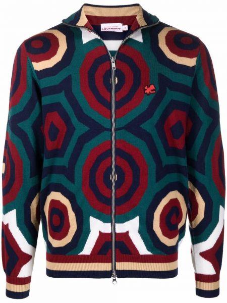 Niebieski sweter z printem Charles Jeffrey Loverboy
