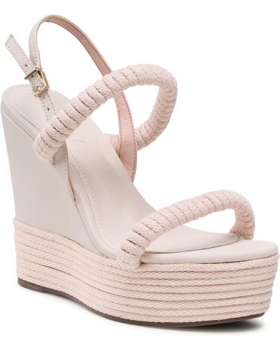 Sandały espadryle - białe Schutz