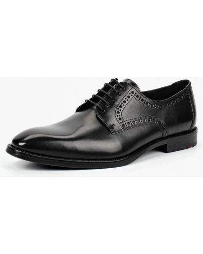 Черные туфли немецкие Lloyd