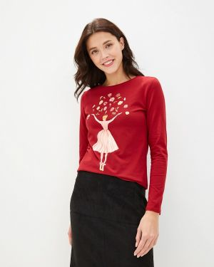 Лонгслив - красная Fashion.love.story