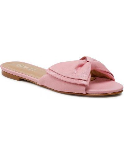 Różowe sandały Quazi