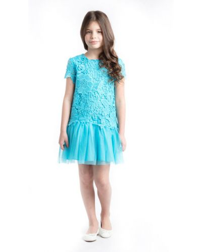 Платье с рукавами хлопковое с подкладкой Playtoday Kids