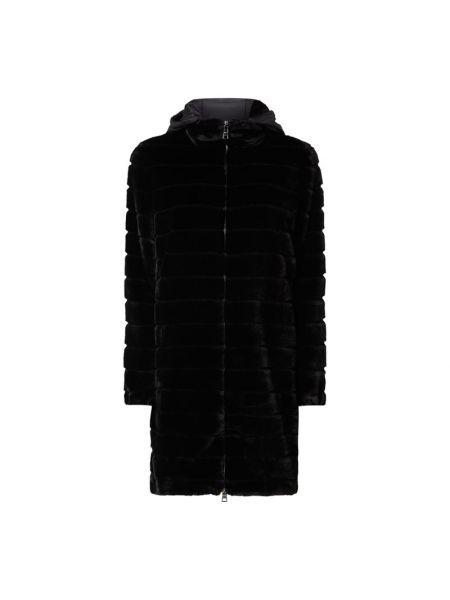 Płaszcz z kapturem - czarny Blonde No. 8
