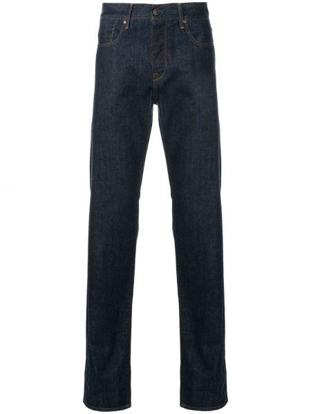 Niebieskie jeansy bawełniane perły Kent & Curwen