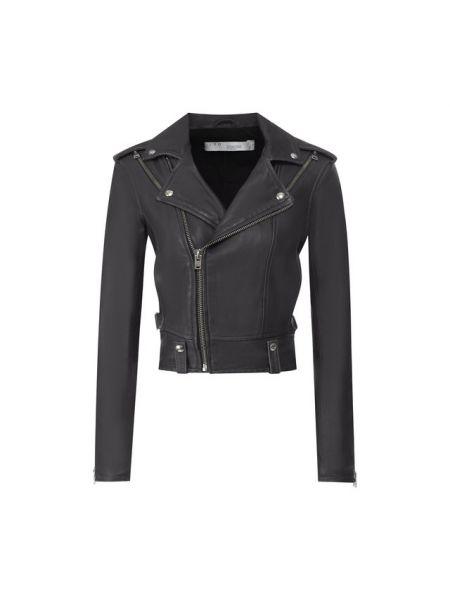 Кожаная куртка джинсовая на молнии Iro