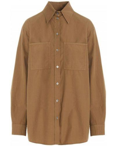 Beżowa koszula Lemaire