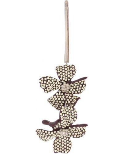 Kolczyki pierścionki fioletowy karmazynowy Acne Studios