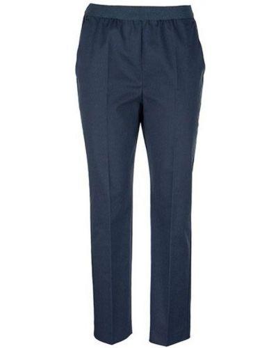 Niebieskie spodnie Agnona