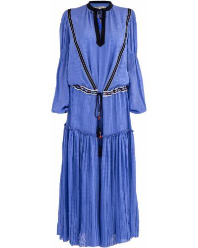 Платье макси с бисером в стиле бохо Etro