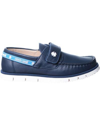Туфли синие Roberto Cavalli