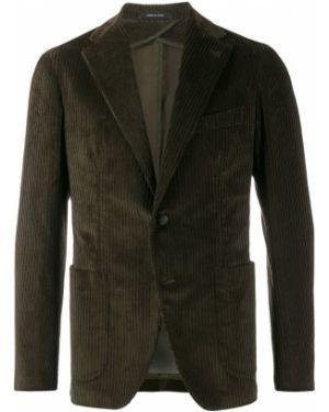 Пиджак двубортный вельветовый Tagliatore
