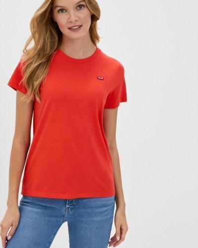 Красная с рукавами футболка Levi's®