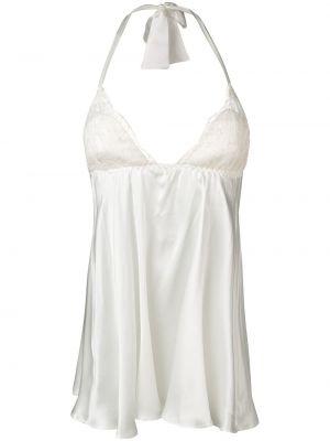 Koszula nocna koronkowa - biała Gilda & Pearl