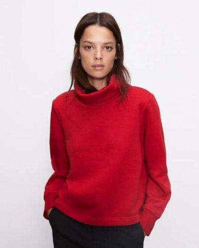 Хлопковый свитшот - красный Zara