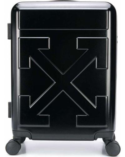 Черный чемодан Off-white