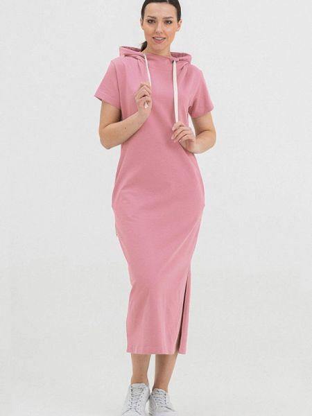 Прямое розовое платье The Cave