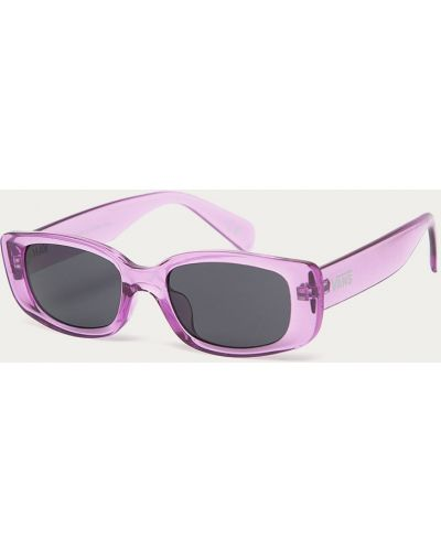 Fioletowe okulary Vans