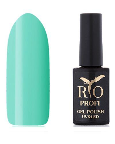 Гель-лак для ногтей мятный Rio Profi