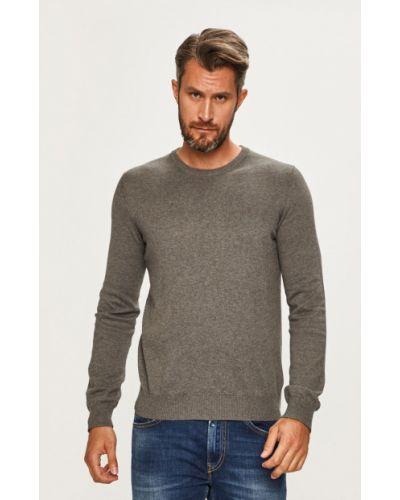 Sweter z wzorem z dzianiny Izod