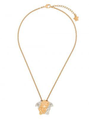 Ażurowy złoty naszyjnik Versace