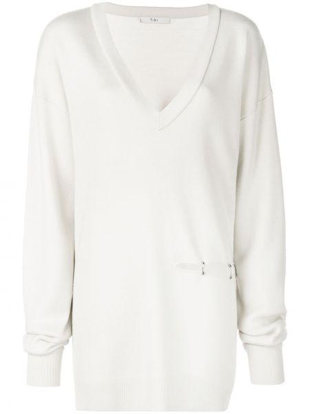 Пуловер вязаный с V-образным вырезом Tibi