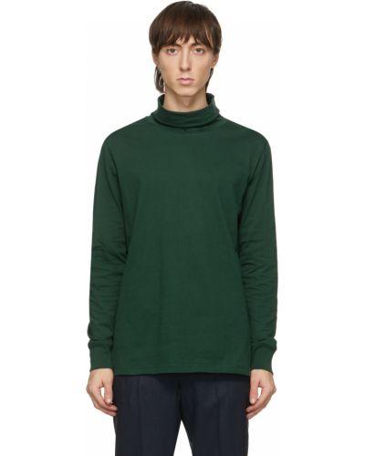 Zielony golf bawełniany z długimi rękawami Ps By Paul Smith