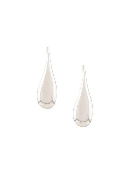 Kolczyki sztyfty srebrne Bar Jewellery
