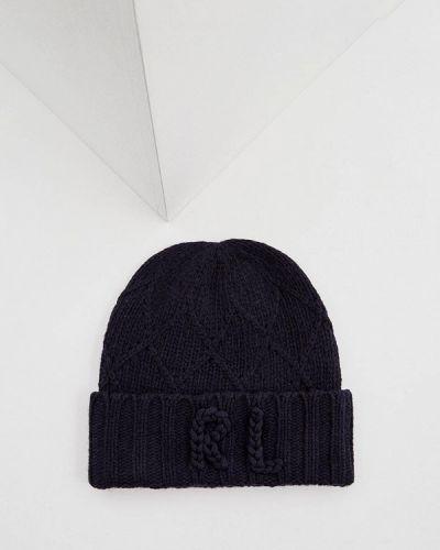 Синяя шапка осенняя Polo Ralph Lauren