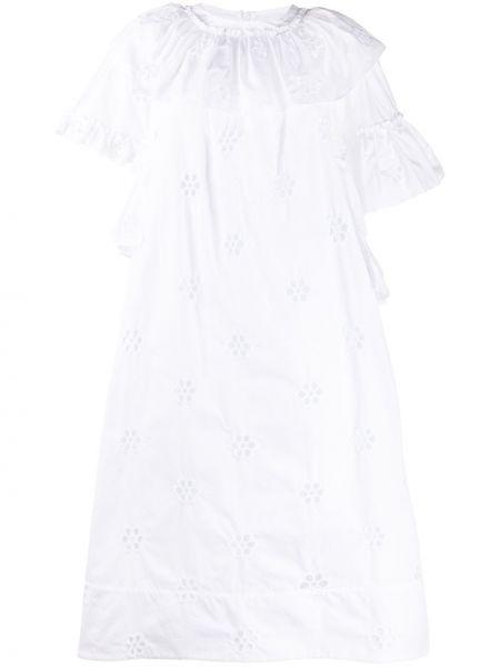 Платье мини миди с вышивкой Simone Rocha