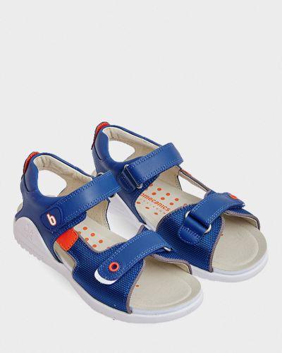 Кожаные сандалии - синие Biomecanics