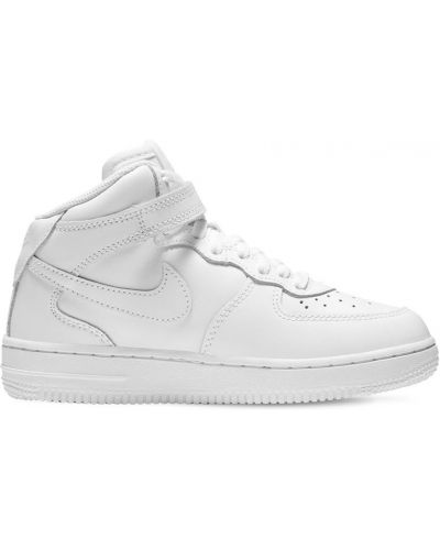 Z paskiem skórzany sneakersy zasznurować Nike