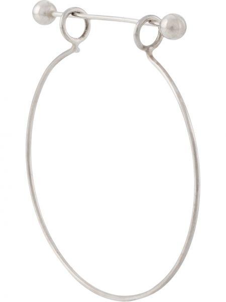Kolczyki pierścionki kolczyki ze sztyftem srebrne Vibe Harsløf