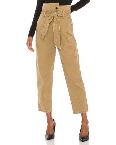 Bawełna bawełna spodnie palazzo z kieszeniami w połowie kolana Marissa Webb