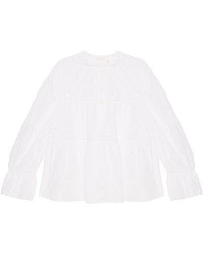 Блузка кружевная с рюшами See By Chloé