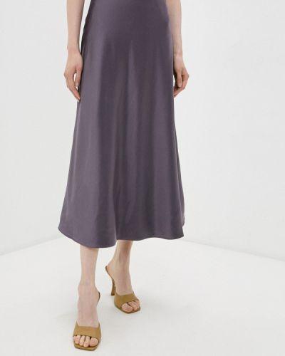 Фиолетовая юбка свободного кроя Zarina