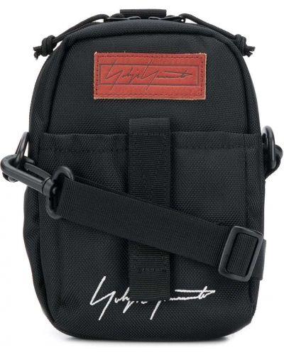 Czarna torebka mini Yohji Yamamoto