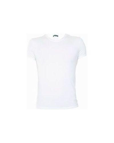 Белая футболка повседневная Versace