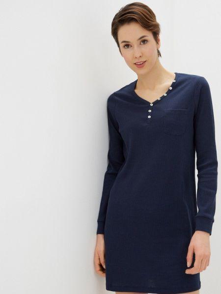 Платье синее весеннее Nymos