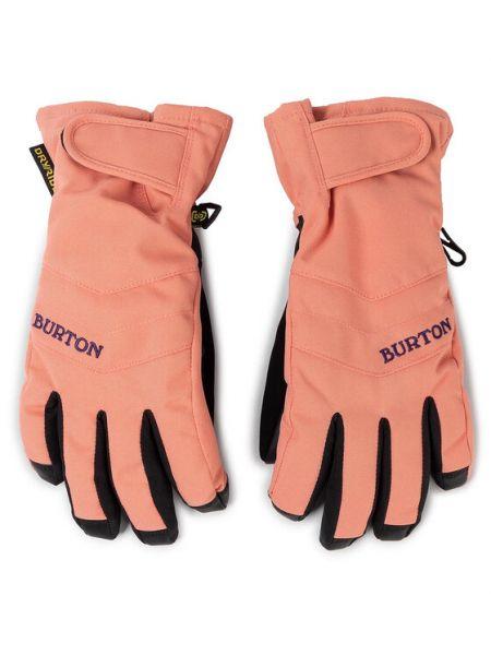 Rękawiczki - pomarańczowe Burton