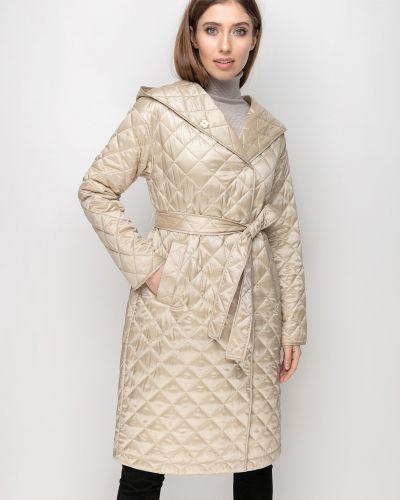 Стеганое пальто - бежевое Samange