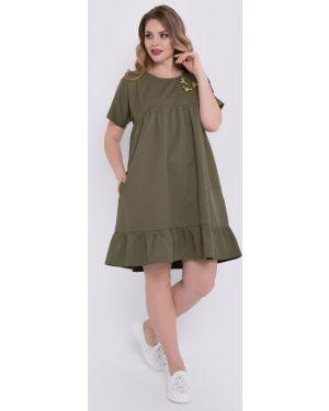 Летнее платье мини платье-сарафан тм леди агата