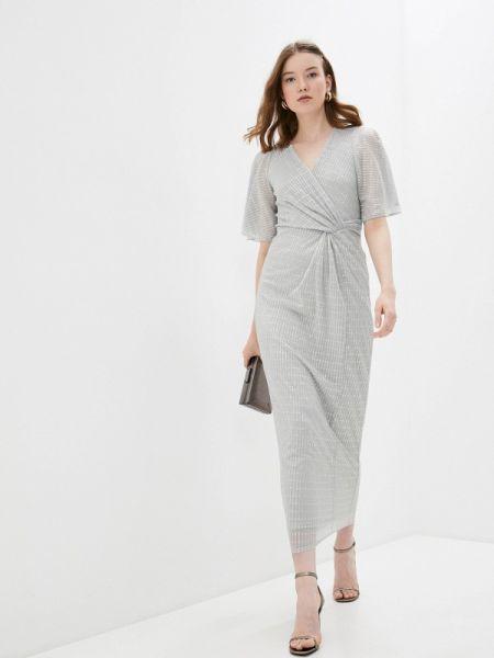Серое платье Wallis